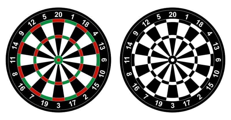 Best Bristle Dartboard
